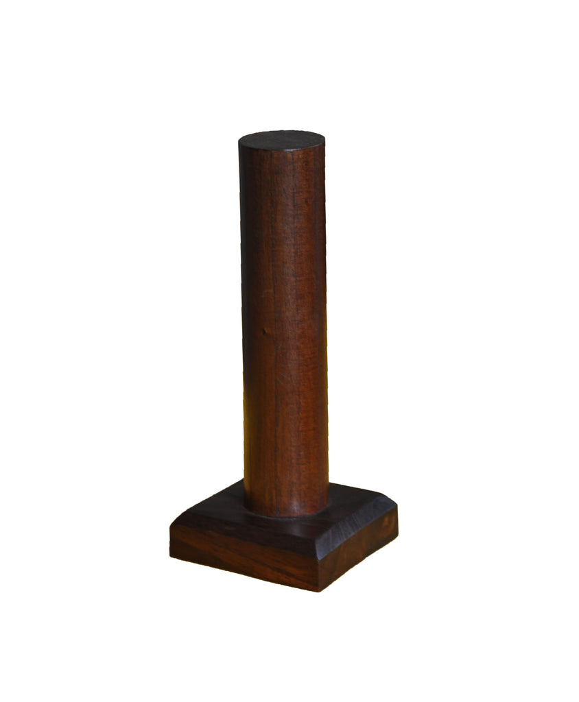 Standing Wood Bracelet Display - Walnut