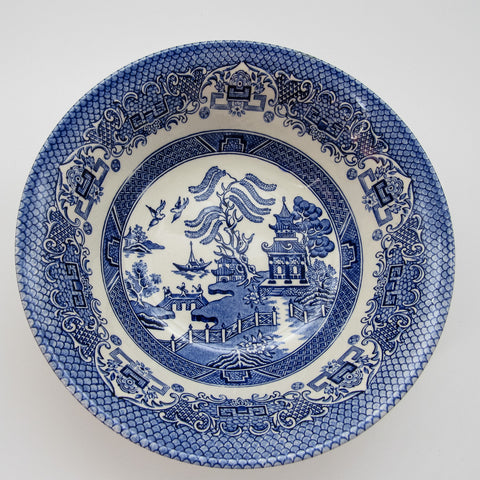 Blue Willow Serving Bowl