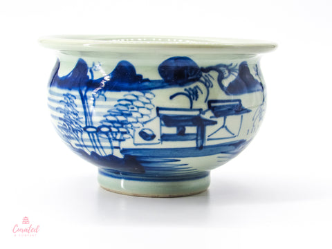 Asian Landscape Cachepot