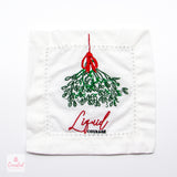 Cool Holiday Cocktail Napkin Set