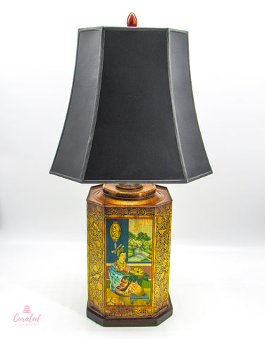 Frederick Cooper Asian Tin Lamp