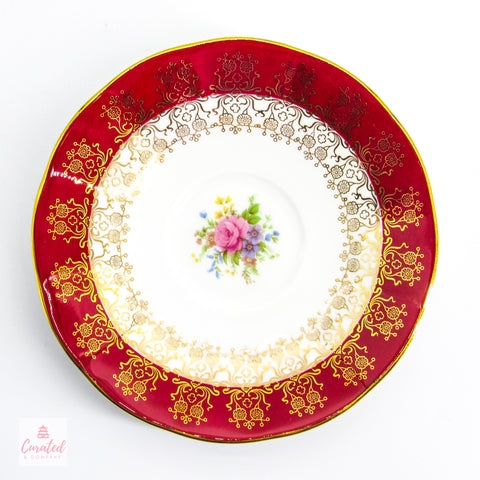 Queens Monarch Bone China Saucer