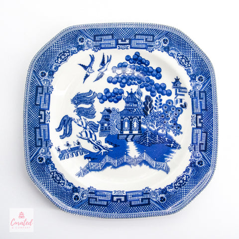 Johnson Brothers Blue Willow Dessert Plate