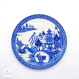 Spode Buddleia Willow Pattern Dish