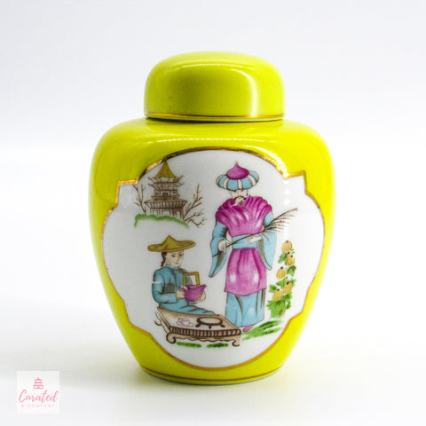 Chinoiserie Towle Ginger Jar