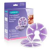 Lansinoh TheraPearl Breast Therapy Pack with Covers, 2 Count