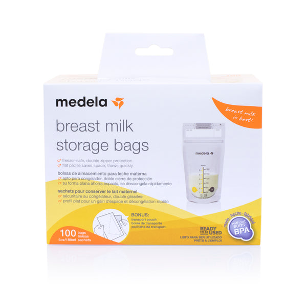 Medela Breast Milk Storage Bags - 100pcs