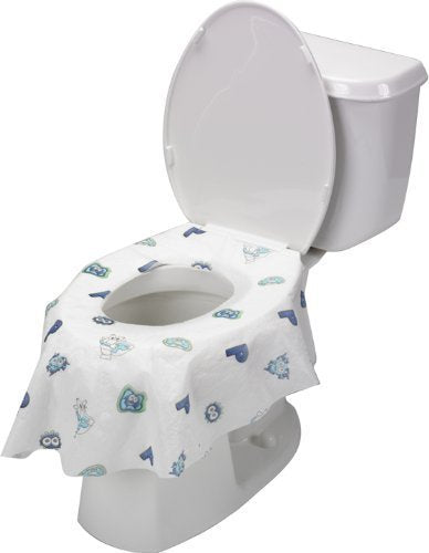 Disposable Toilet Seat Covers Extra Large 5 Packs