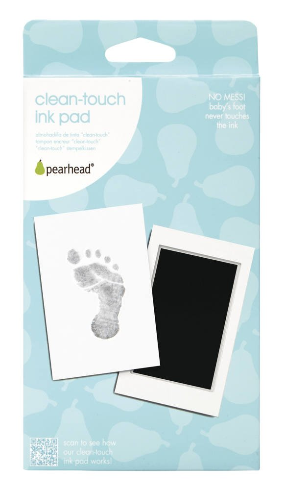 Newborn Handprint or Footprint Ink Pad - Black