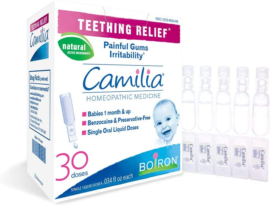 Camilia, Medicine for Teething Relief - 30 Doses