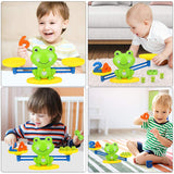 Frog Balance Counting Toys - Educational Numbers