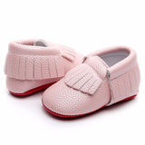 Newborn baby shoes - Pink, 0-6 months