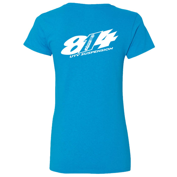 814 Suspension Logo Women's V-Neck T-Shirt