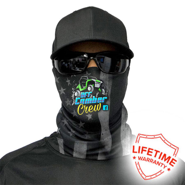 Off Camber Crew Face Shield