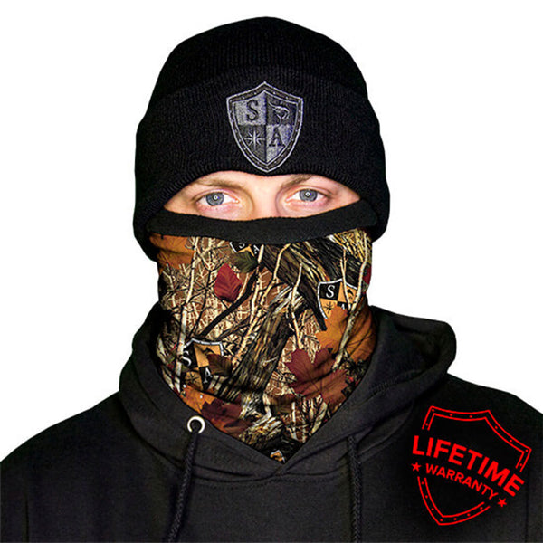 Frost Tech - Forest Camo Fleece Lined Face Shield