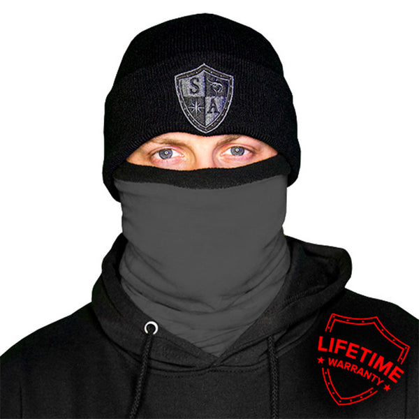 Frost Tech - Tactical Grey Fleece Lined Face Shield