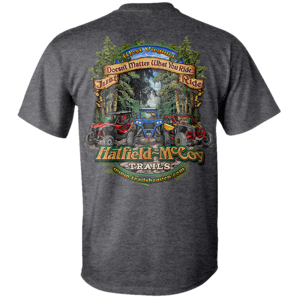 "Hatfield & McCoy's ""Just Ride"" T-Shirt"