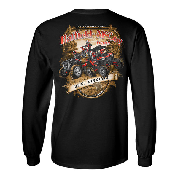 "Hatfield - McCoy Trails ""Scenic View"" Long Sleeve Shirt"