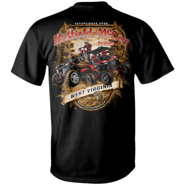 "Hatfield - McCoy Trails ""Scenic View"" T-Shirt"