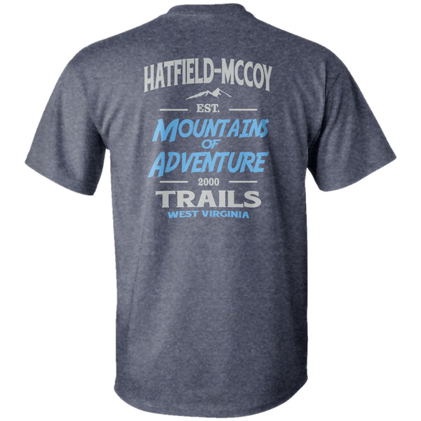 "Hatfield and McCoy Trails ""Eat, Sleep, Ride"" T-Shirt"