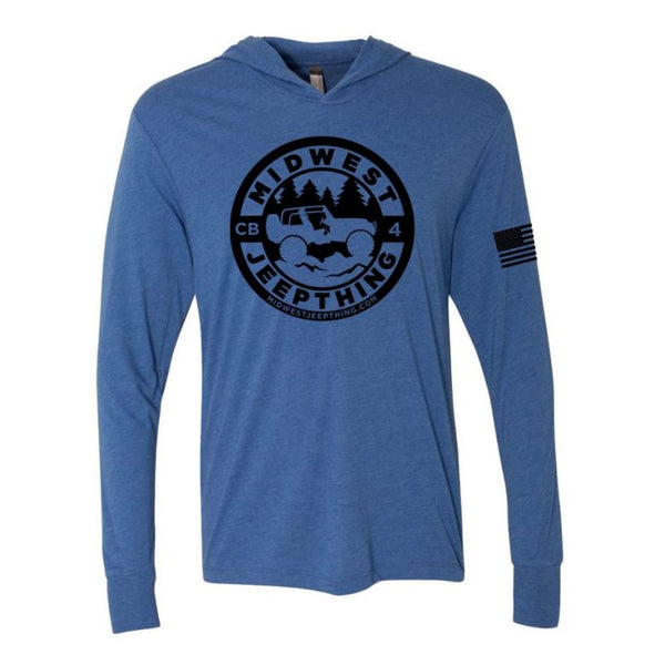 Midwest Jeepthing Triblend Hooded Tee