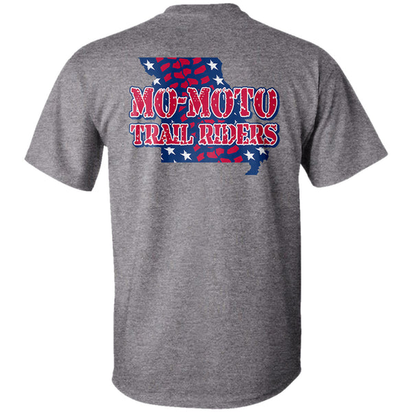 "Mo-Moto Trail Riders ""Patriotic"" T-Shirt"