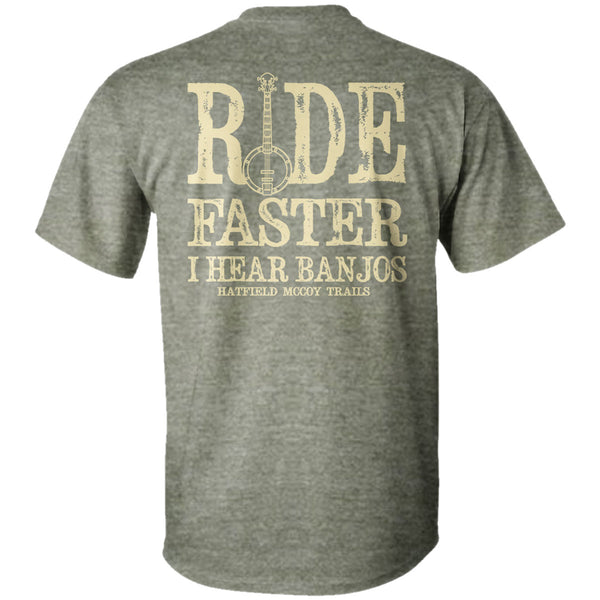 "Hatfield & McCoy's ""Ride Faster"" T-Shirt"