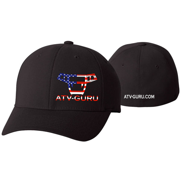 "ATV-Guru ""Patriotic"" FlexFit Hat"