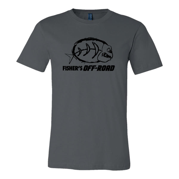 Fisher's Off-Road Black Logo T-Shirt