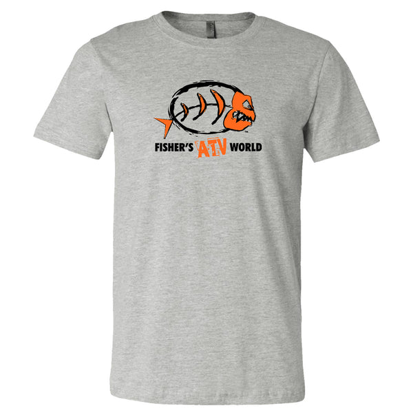 Fisher's ATV World Color Logo T-Shirt Now 50% off while supplies last!!!