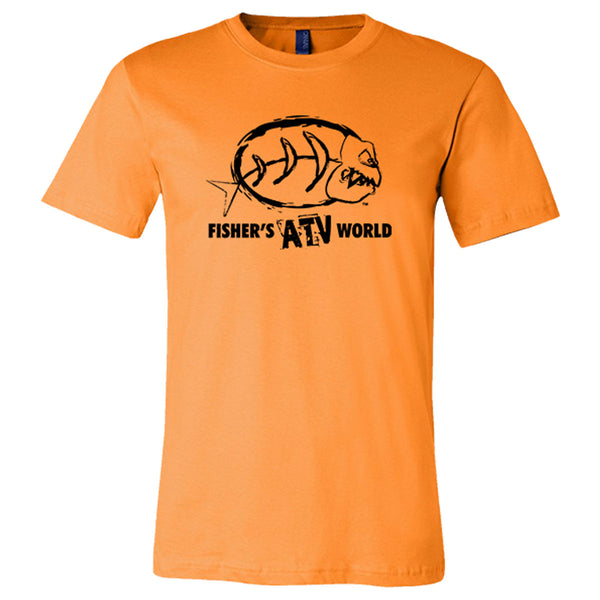 Fisher's ATV World Black Logo T-Shirt Now 50% off while supplies last!!!