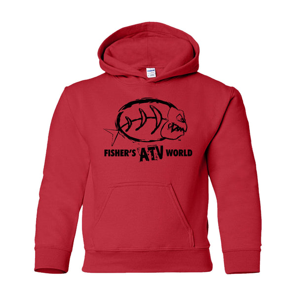 Fisher's ATV World Youth Hoodie NOW 60% OFF WHILE SUPPLY LAST!!!