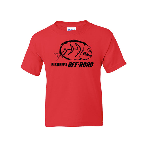 "Fisher's Off-Road ""Logo"" Youth T-Shirt"