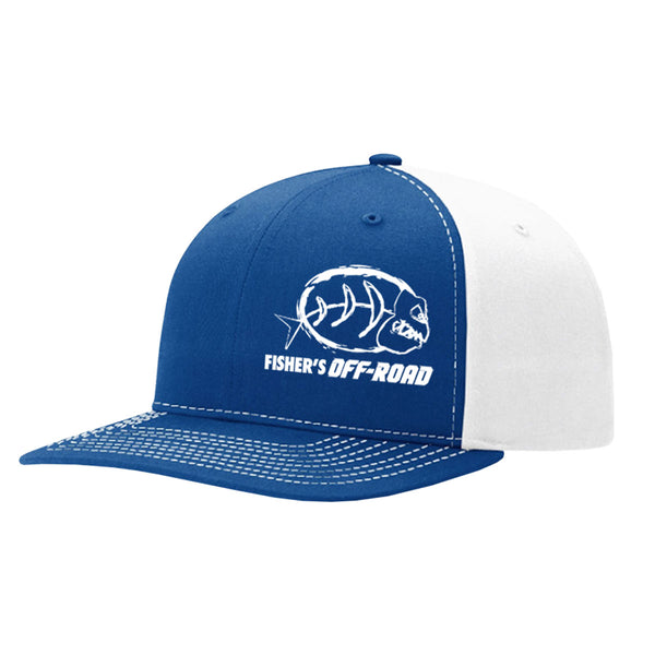 Fisher's Off-Road Trucker Twill Back Hat