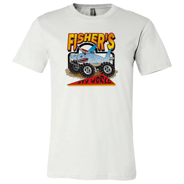 Fisher's ATV World Throwback Logo T-Shirt<B> NOW 60% OFF WHILE SUPPLIES LAST!!!