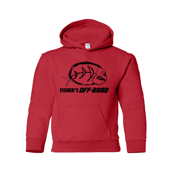 Fisher's Off-Road Youth Hoodie