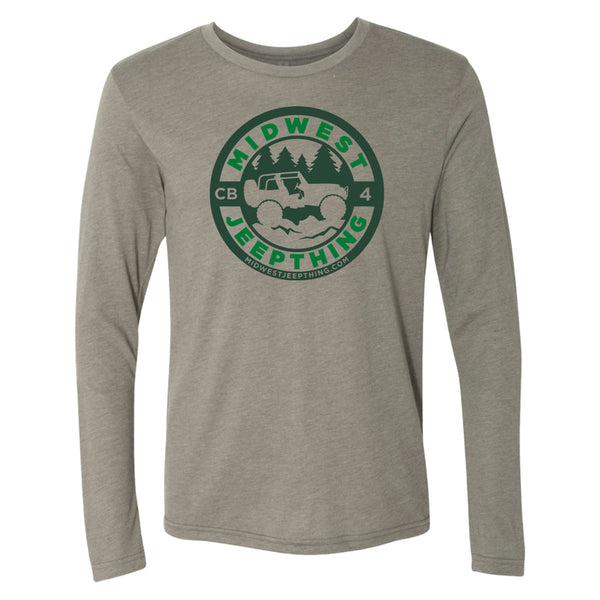 Midwest Jeepthing Triblend Long Sleeve Crew