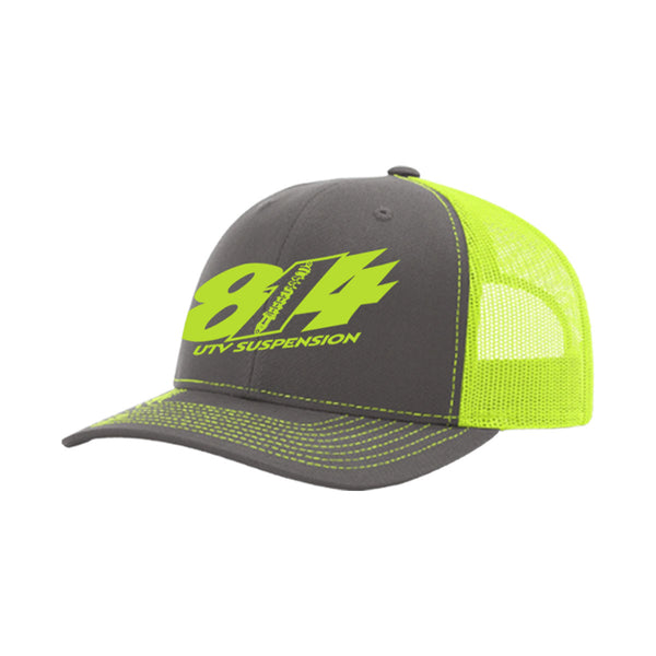 814 UTV Suspension Trucker Mesh Back Hat