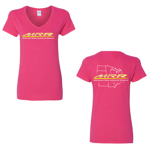Midwest Recreational Riders Women's V-Neck