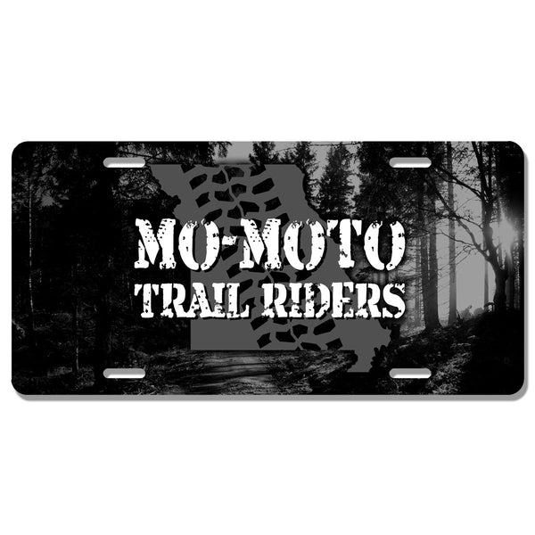 Mo-Moto Trail Riders License Plate