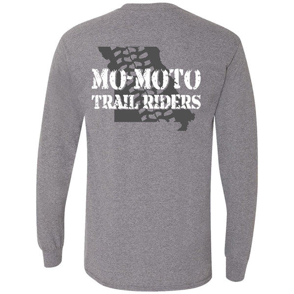 "Mo-Moto Trail Riders ""Mo-Moto State"" Long Sleeve T-Shirt"
