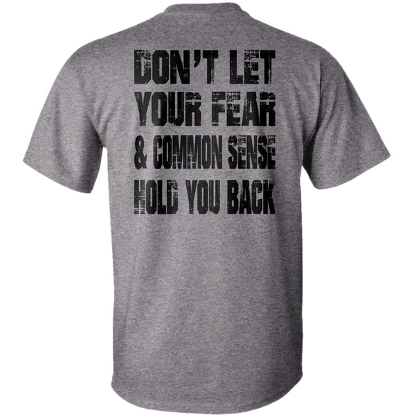 "Ride Royal Blue ""Common Sense""  T-Shirt"