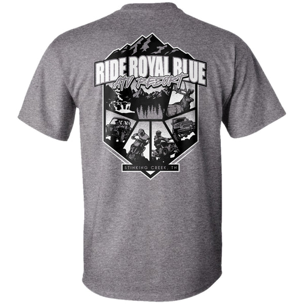 Ride Royal Blue ATV Resort T-Shirt