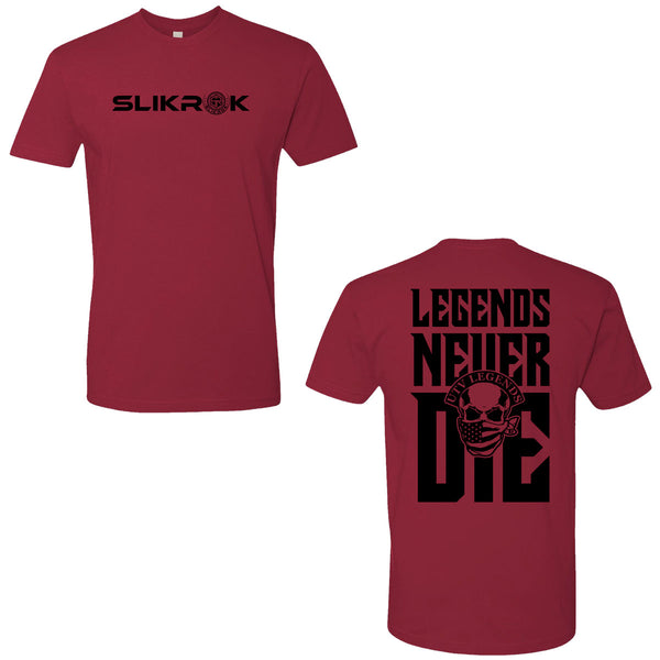 "SlikRok - UTV Legends <br>""Legends Never Die"" T-Shirt"