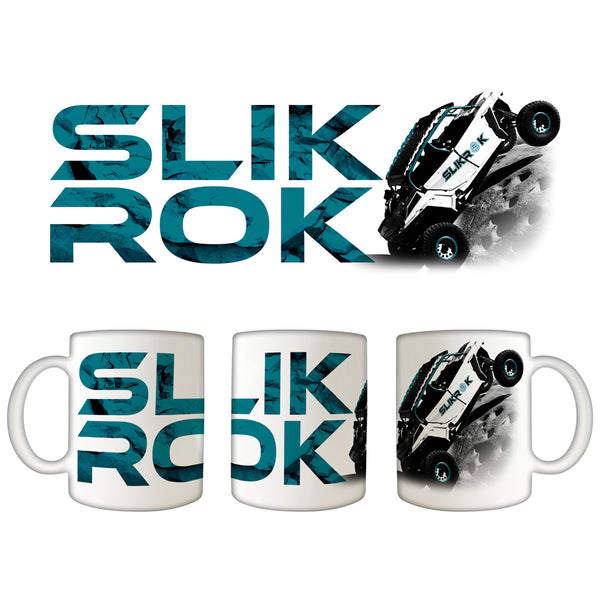 "SlikRok ""Climber"" 11oz. White Coffee Mug"