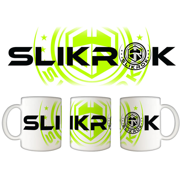 "SlikRok ""Logo"" 11oz. White Coffee Mug"