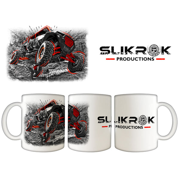 SlikRok Productions 11oz. White Coffee Mug