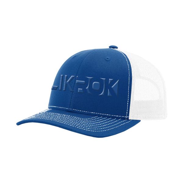 "SlikRok ""Box"" 3D Embroidered Trucker Mesh Hat"