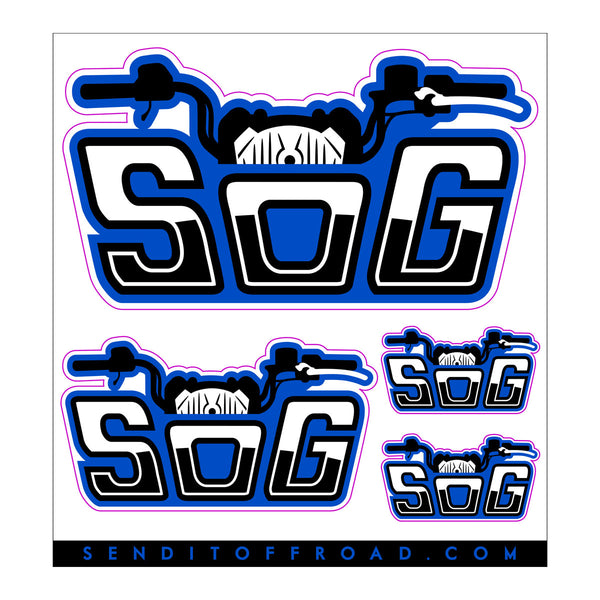 "Sportsman Owners Group ""SOG"" Decal Pack 4 Pc. Set"