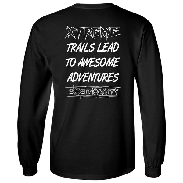 "SxS Insanity ""Xtreme Trails"" Long Sleeve T-Shirt"